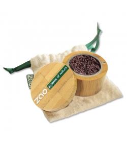 Fard à paupières poudre nacré BIO N°534 Aubergine – 2g – Zao Make-up