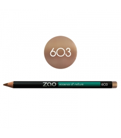 Crayon yeux, lèvres & sourcils BIO N°603 Beige – 1,17g – Zao Make-up