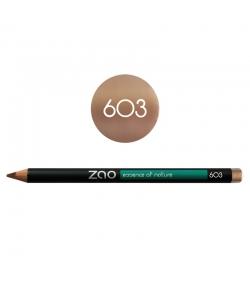 Crayon yeux, lèvres & sourcils BIO N°603 Beige – 1,17g – Zao Make-up