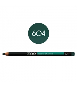 BIO-Augenstift N°604 Dunkelgrün – 1,17g – Zao Make-up