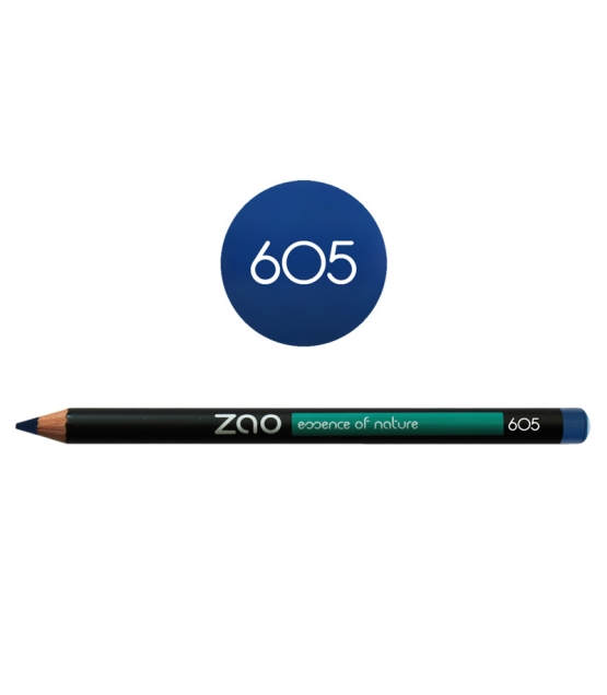 BIO-Augenstift N°605 Dunkelblau – 1,17g – Zao Make-up