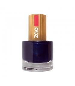 Nagellack glänzend N°653 Nachtblau – 8ml – Zao Make-up