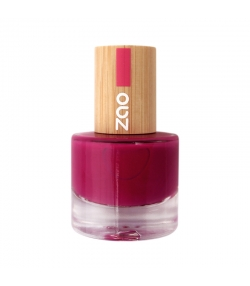 Vernis à ongles brillant N°663 Framboise - 8ml - Zao Make-up