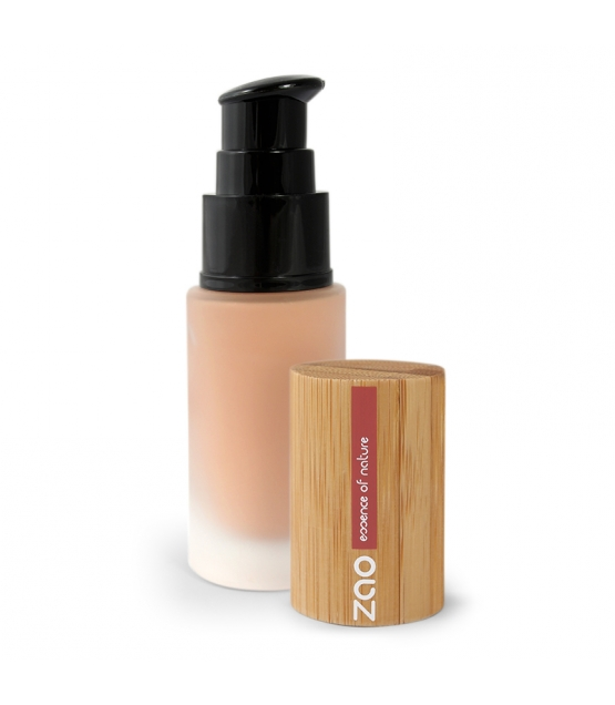 Fond de teint liquide BIO N°702 Abricot – 30ml – Zao Make-up