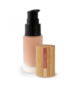 Fond de teint liquide BIO N°705 Cappuccino – 30ml – Zao Make-up