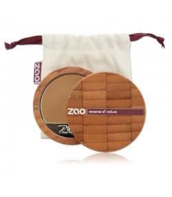 Fond de teint compact BIO N°734 Capuccino – 7,5g – Zao Make-up