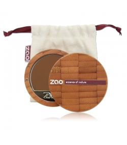 Fond de teint compact BIO N°735 Chocolat – 7,5g – Zao Make-up