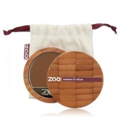 Fond de teint compact BIO N°735 Chocolat – 7,5g – Zao Make-up