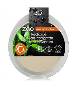 Nachfüller BIO-Kompaktpuder N°301 Elfenbein – 9g – Zao Make-up