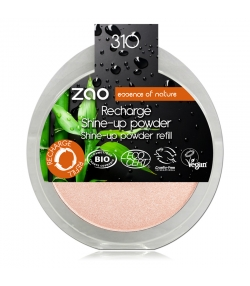 Recharge Poudre visage Shine-up BIO N°310 Champagne rosé - 9g - Zao Make-up