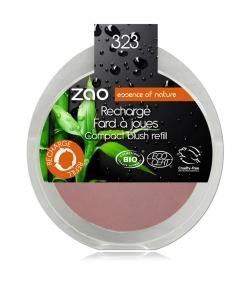 Nachfüller BIO-Wangenrouge N°323 Lila – 9g – Zao Make-up