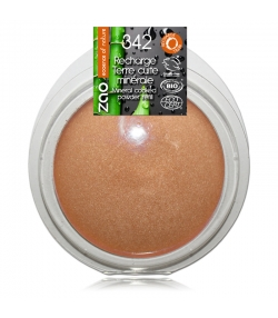 Recharge Terre cuite minérale BIO N°342 Bronze cuivré – 15g – Zao Make-up