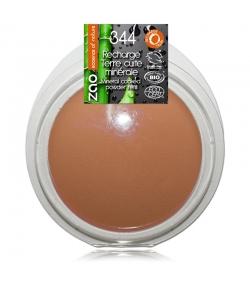 Recharge Terre cuite minérale BIO N°344 Chocolat – 15g – Zao Make-up