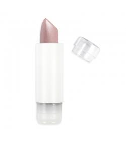 Recharge Rouge à lèvres nacré BIO N°401 Améthyste – 3,5g – Zao Make-up