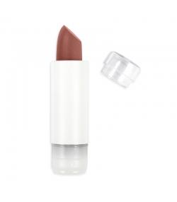 Nachfüller BIO-Lippenstift perlmutt N°404 Rot Braun – 3,5g – Zao Make-up