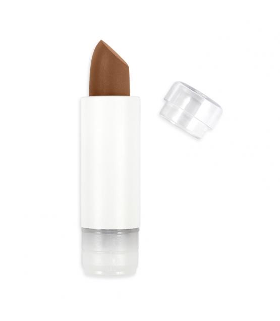 Nachfüller BIO-Lippenstift perlmutt N°405 Gold Braun – 3,5g – Zao Make-up