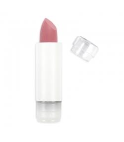 Recharge Rouge à lèvres soft touch mat BIO N°434 Rose Poudré - 3,5g - Zao Make-up