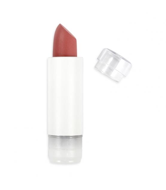 Nachfüller BIO-Lippenstift matt N°464 Orange Rot - 3,5g - Zao Make-up