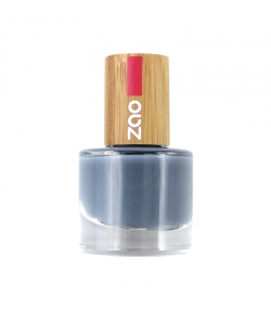 Vernis à ongles brillant N°670 Bleu gris - 8ml - Zao Make-up
