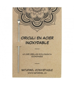 Oriculi en inox - 1 pièce - Natur'Mel Cosm'Ethique