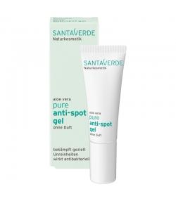 Gel anti-impuretés sans parfum BIO aloe vera - 10ml - Santaverde Pure