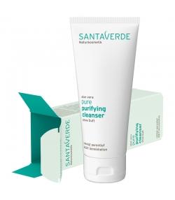 Klärendes BIO-Reinigungsgel ohne Duft Aloe Vera - 100ml - Santaverde Pure