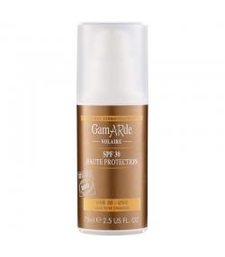 Crème solaire visage & corps BIO IP 30 sésame & jojoba - 75ml - Gamarde
