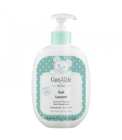 Gel lavant corps & cheveux bébé BIO aloe vera & eau thermale - 400ml - Gamarde