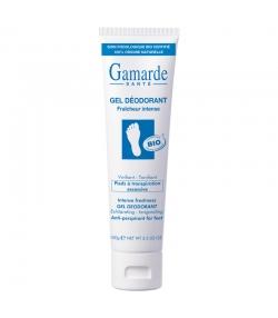 Gel déodorant pour les pieds fraîcheur intense BIO menthol & eau thermale - 100g - Gamarde