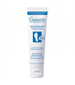 Gel exfoliant pour les pieds fraîcheur intense BIO noyaux d'abricot & eau thermale - 100g - Gamarde