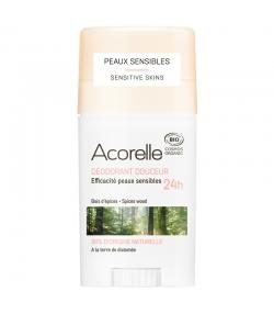 Déodorant stick douceur 24h BIO bois d'épices - 45g - Acorelle