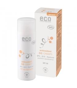 BIO-CC Creme hell getönt LSF 30 OPC, Q10 & Hyaluron - 50ml - Eco Cosmetics