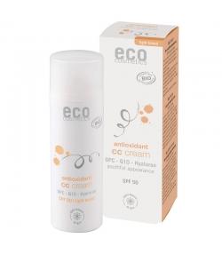 BIO-CC Creme hell getönt LSF 50 OPC, Q10 & Hyaluron - 50ml - Eco Cosmetics