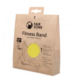 Fitnessband aus Naturkautschuk Gelb - 1 Stück - Fair Zone