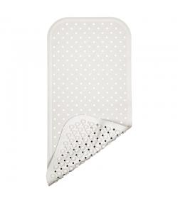 Tapis de bain en caoutchouc naturel Blanc - 1 pièce - Fair Zone