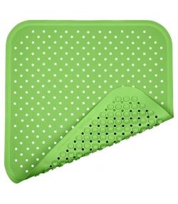 Tapis de douche en caoutchouc naturel Vert - 1 pièce - Fair Zone