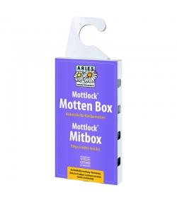 Klebefalle gegen Kleidermotten zur Befallsüberwachung – Mottlock Mottenbox – 1 Klebefalle – Aries