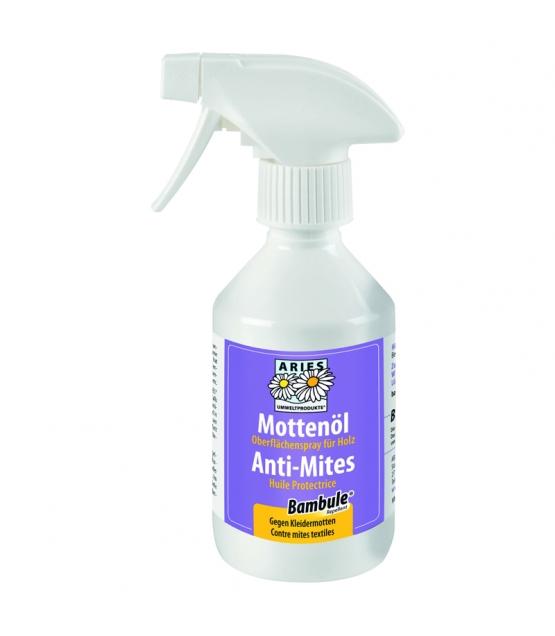 Huile protectrice anti-mites naturelle – Bambule – 250ml – Aries