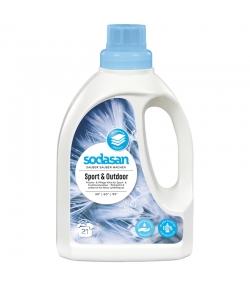Lessive liquide sport & extérieur écologique - 21 lavages - 750ml - Sodasan