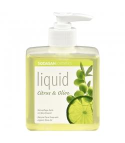 Savon liquide BIO citrus & olive - 300ml - Sodasan