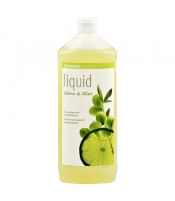 BIO-Flüssigseife Citrus & Olive - 1l - Sodasan