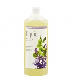 Savon liquide BIO lavande & olive - 1l - Sodasan
