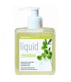 Savon liquide peaux sensibles BIO sans parfum - 300ml - Sodasan