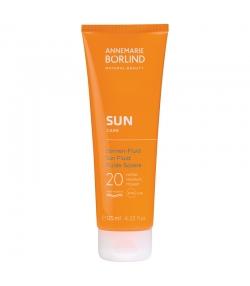 BIO-Sonnen-Fluid Gesicht & Körper LSF 20 Panthenol - 125ml - Annemarie Börlind Sun Care