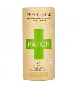 Pansements en bambou naturels aloe vera - 25 pièces - Patch