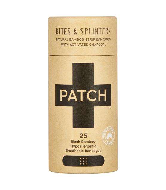 Pansements en bambou naturels charbon actif - 25 pièces - Patch