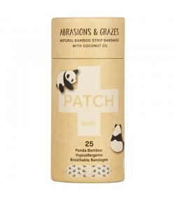 Pansements en bambou enfants naturels noix de coco - 25 pièces - Patch