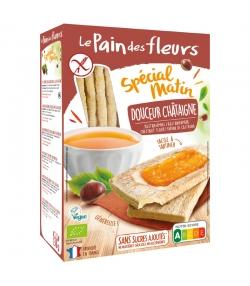 Knusprige milde BIO-Maroni.Schnitten Spécial matin - 230g - Le pain des fleurs