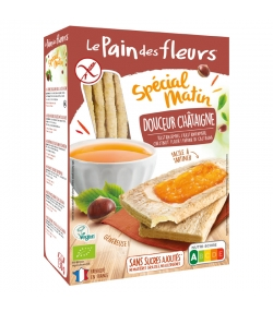 Spécial matin douceur châtaigne BIO - 230g - Le pain des fleurs