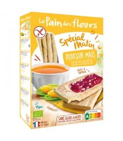 Knusprige milde BIO-Mais-Schnitten Spécial matin  - 230g - Le pain des fleurs